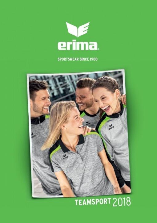 Nouveau catalogue général ERIMA 2018: un feu d'artifice de nouveautés