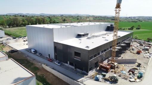 Fête de fin du gros oeuvre: l'ouverture du nouveau centre logistique ERIMA approche